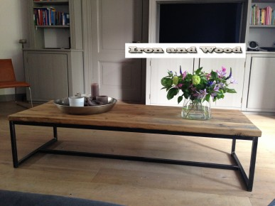 Tv Kast Salon Tafel.Industriele Salontafels En Tv Meubels Archieven Iron And Wood