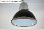 zwarte emaille lamp grijze bovenkant (3) d38 h35 k2