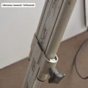Zilverkleurige spot en statief D31 H170 vierkant 7