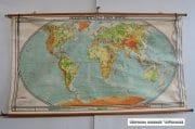 Oude Duitse wereldkaart H123 B220 3