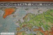 Oude Duitse wereldkaart H123 B220 7