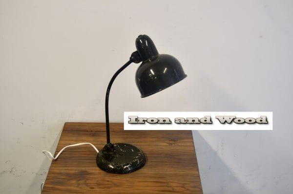 Groene bureaulamp H45 1