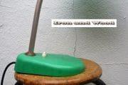 Knalgroene lamp H40 3