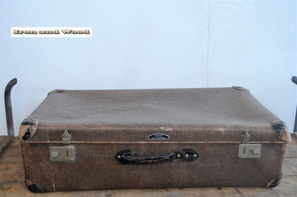 Koffer bruin gemeleerd 65x38x18 1