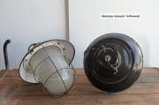 Zwarte emaille kooilampen H 40 D 38 2