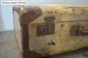 Oud brocante koffer 65x40x22 7