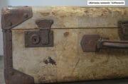 Oud brocante koffer 65x40x22 8