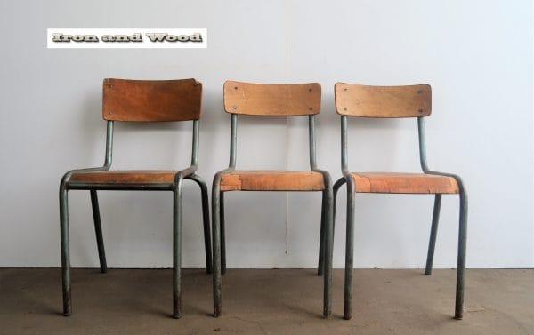 Groene Mullca stoelen 2