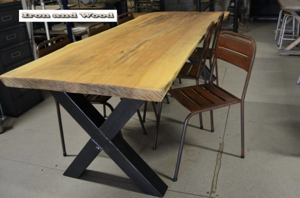 Bruine stalen stoelen H47 z37x38 2