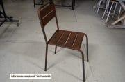 Bruine stalen stoelen H47 z37x38 5