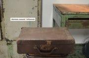 Koffer bruin 39x25x11 7