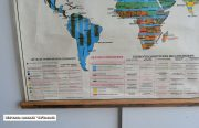 Wereldkaart Organisation espace 130 x 95 4