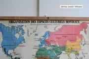 Wereldkaart Organisation espace 130 x 95 5