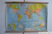 Wereldkaart planisphere politique 130 x 94 1 (2)