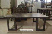 Stalen salontafel L100 B86 H 32 3