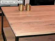 Industriele salontafel met onderblad en tv meubel 4