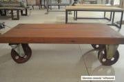 Salontafel van oude merantie balken 110x58x31 5