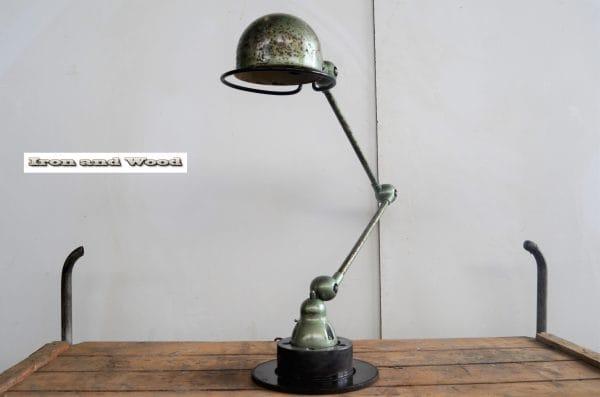 Jielde lamp groen H75 3