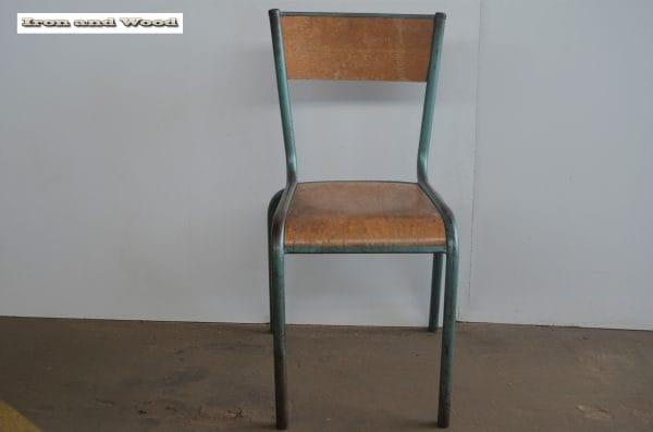 Mullca stoel groen H45 Z34x35 2