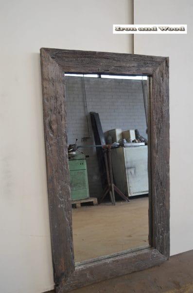 Spiegel grijs bruin 152×90 L15 1