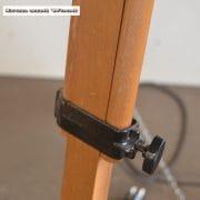 Spot op houten statief H165 D45x38 vierkant 10