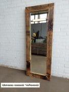 13 grenen spiegel blanke lak 147×55 l10 7