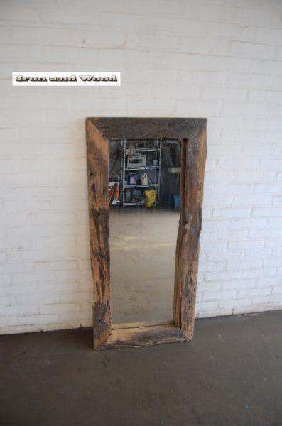 Spiegel eiken lichte greywash 116 x 54 L9,5 2