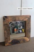 Spiegel bruin 82 x 82 L 15,5 2
