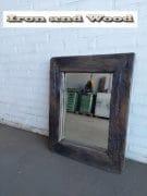 Spiegel eiken Black wash 69 x 55 L9 (1)