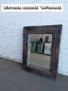 Spiegel eiken Black wash 69 x 55 L9 (2)