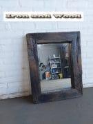 Spiegel eiken Black wash 69 x 55 L9 (7)