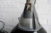 Industriele zwarte emaille lampen D57 H60 4