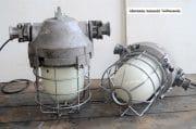 Industriele bully met melkglas stolp H40 D36 1