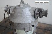 Industriele bully met melkglas stolp H40 D36 2