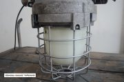Industriele bully met melkglas stolp H40 D36 3