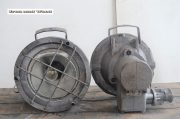 Industriele grijze bully spot H30 D30 3