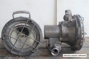 Industriele grijze bully spot H30 D30 4