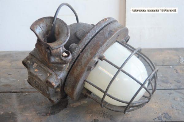Oude industriele bully H32 D20 15 kg 1