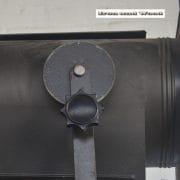 Staande industriele spot H190 S37x30 vierkant 10