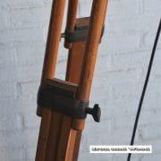 Staande industriele spot H190 S37x30 vierkant 15