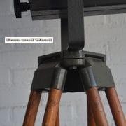 Staande industriele spot H190 S37x30 vierkant 16