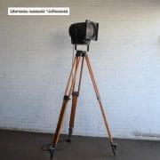 Staande industriele spot H190 S37x30 vierkant 6