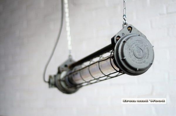 Korte TL tube licht met donkergijs 90 cm 1