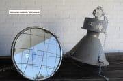 Grijze industriele fabriekslampen H72 D48 12