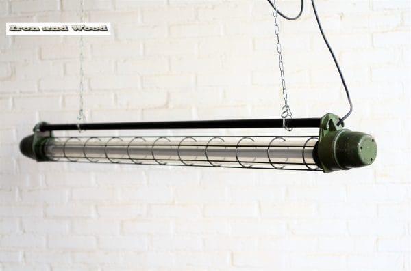 Grote groene TL tube L168 H18 3