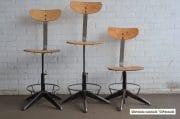 Industriele bureaustoelen zwarte onderzijde 1