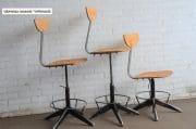 Industriele bureaustoelen zwarte onderzijde 3
