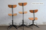 Industriele bureaustoelen zwarte onderzijde 4