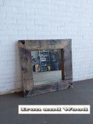 Grenen spiegel greywash beits 79 x 79 L16 (5)