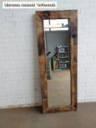 14 grenen spiegel blanke lak 147×55 l10 1